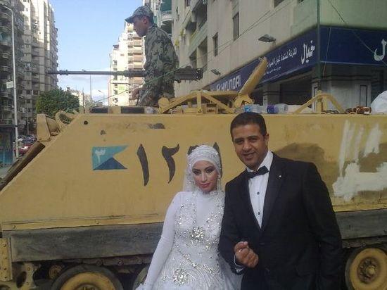 TAHRIR SQUARE WEDDING