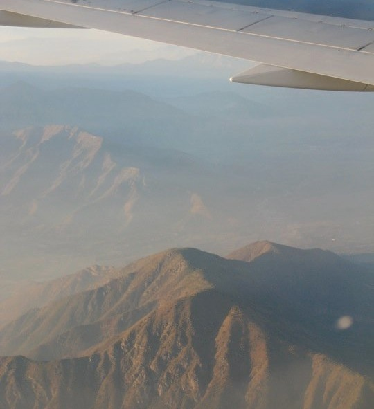 Chilean Andes-4pm