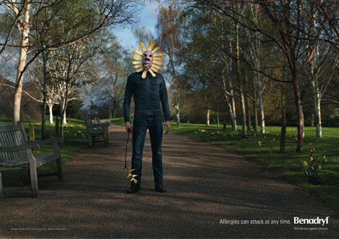 Benadryl-Masks-Sunflower