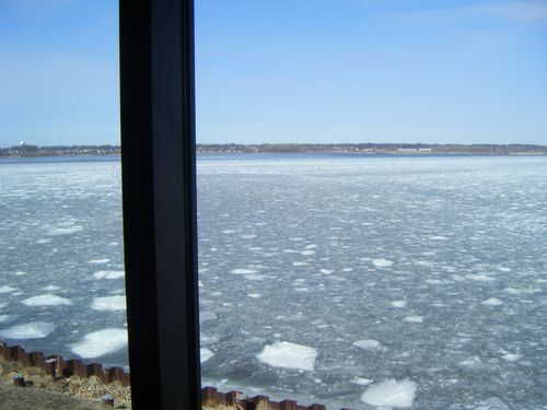 Muskegon, Michigan - winter morning