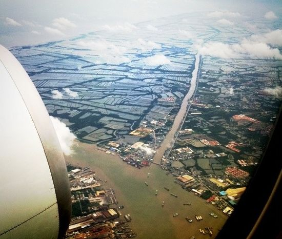 Leaving Bangkok