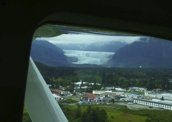 Mendenhall Glacier, Juneau Alaska