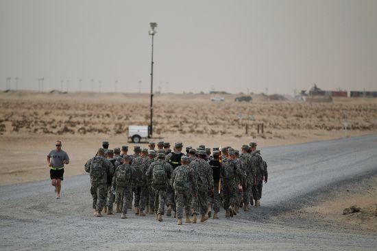 Leaving iraq