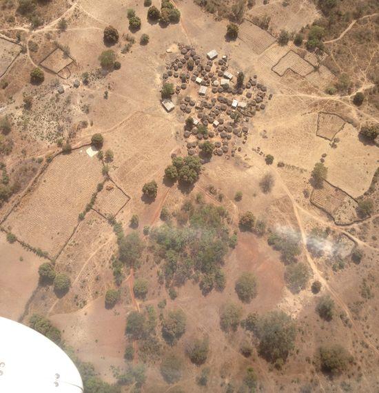 Village Near Siguri-Guinea