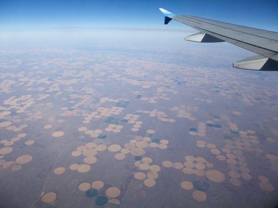 Somewhere over Colorado, Kansas or Nebraska