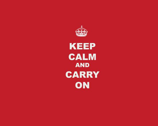 Keep Calm and Carry On Wallpaper Poster 3