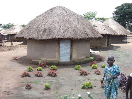 Kitgum IDP camp August 2007