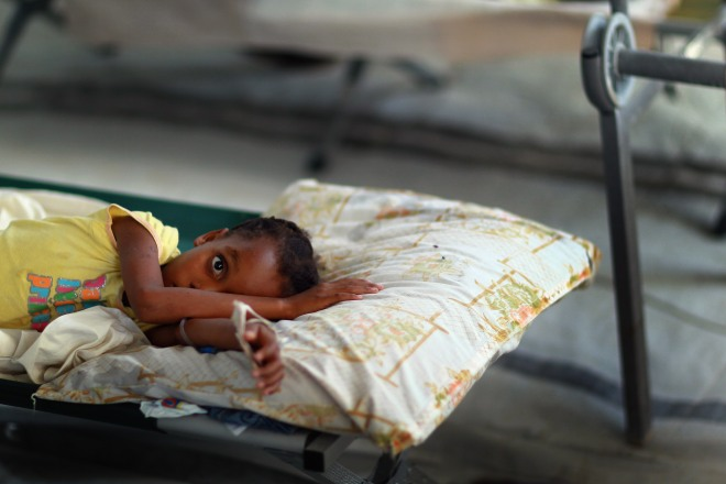 Cholera Epidemic Spreads Rapidly In Haiti