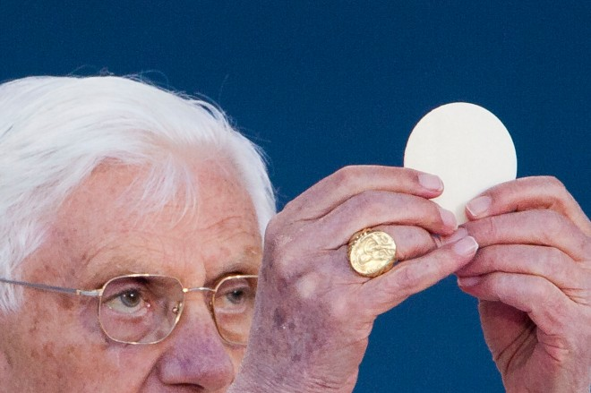 Pope Benedict XVI Visits Erfurt
