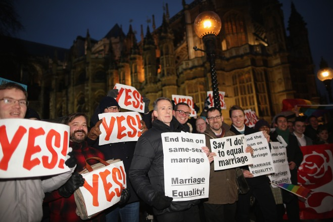 Parliament Set To Vote On The Government's Contentious Gay Marriage Bill