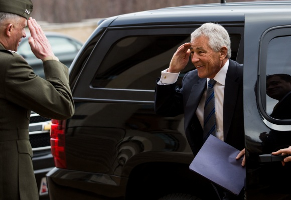 Chuck Hagel Begins His Post As Defense Secretary