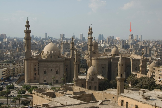 Cairo from old city