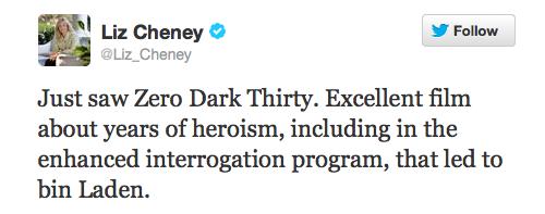 cheney-tweet