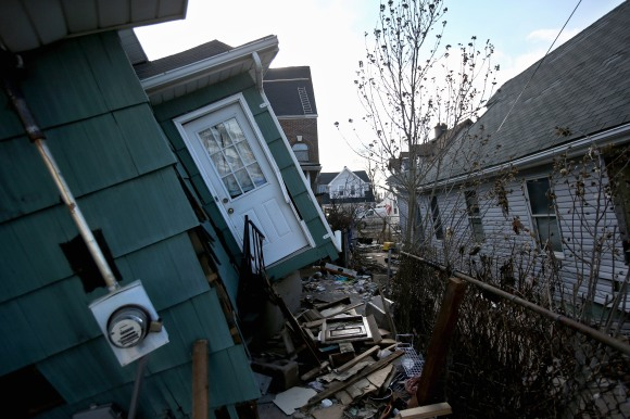 Victims Of Superstorm Sandy Continue To Recover As House Votes On Aid Package