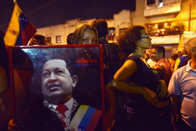 Venezuelans In Caracas Area React To Death Of Hugo Chavez