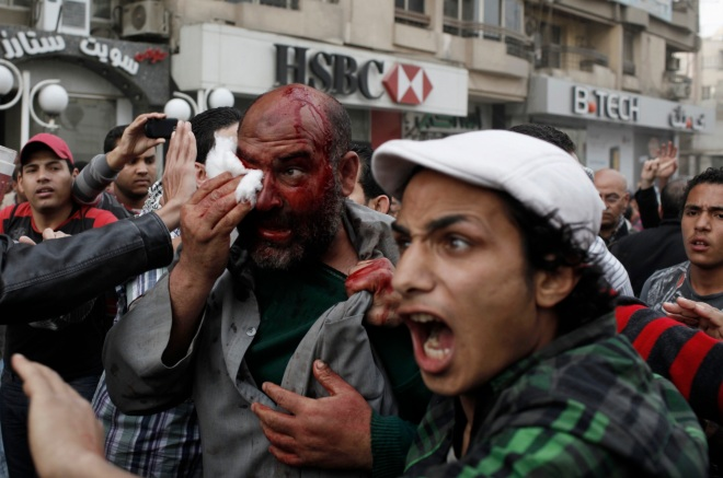 Clashes On The Streets Of Cairo