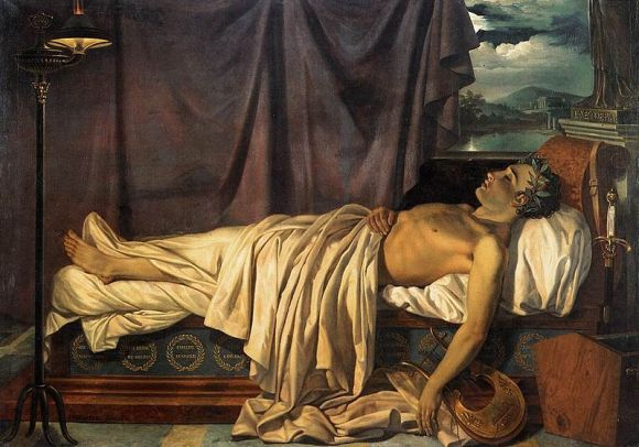 800px-Lord_Byron_on_his_Death-bed_c._1826