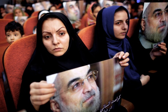 IRAN-POLITICS-VOTE-ROWHANI