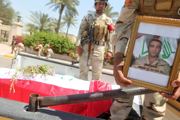 IRAQ-POLITICS-UNREST-FUNERAL