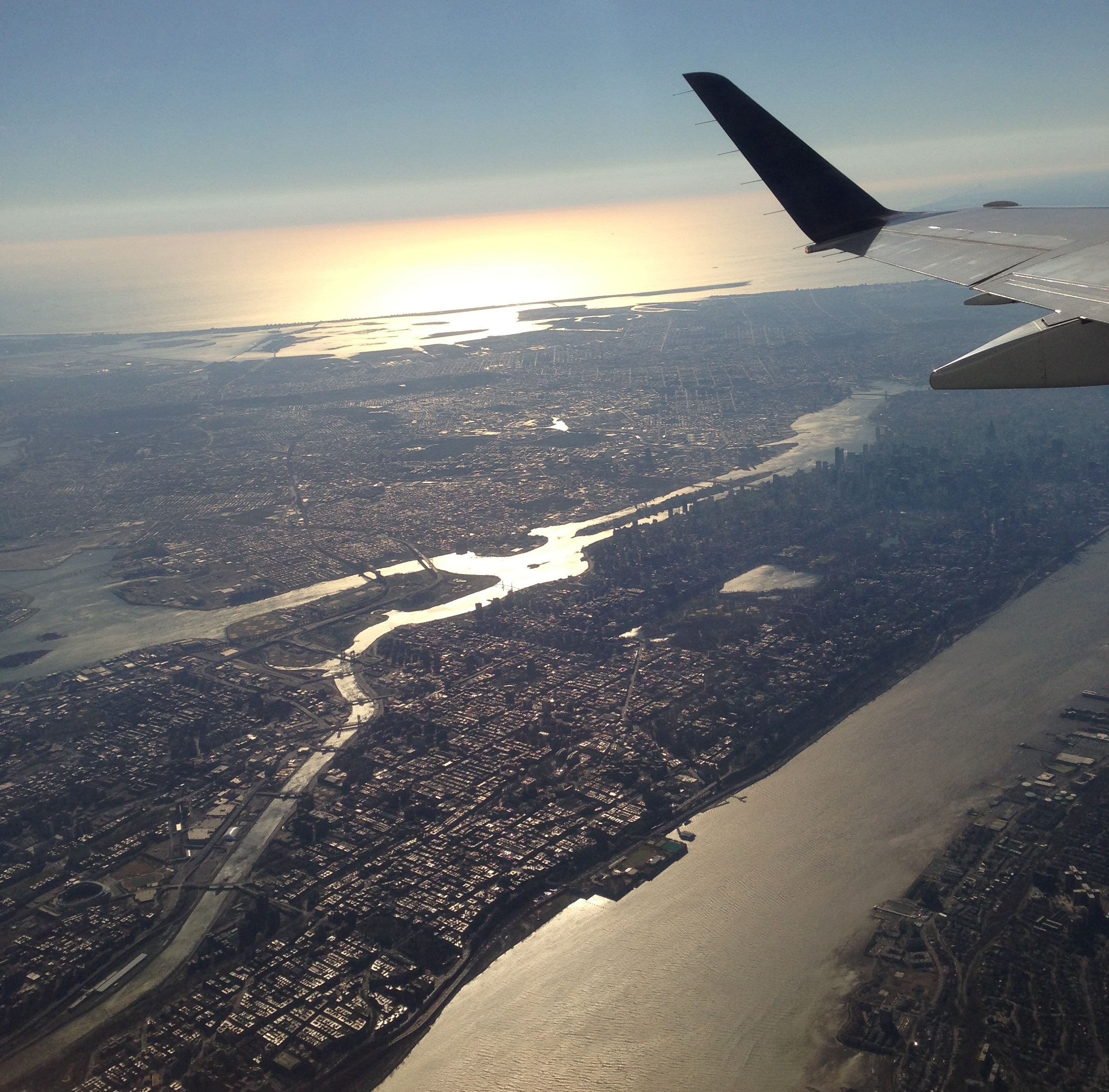 The View From Your Airplane Window – The Dish