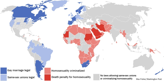 Global Marriage Map