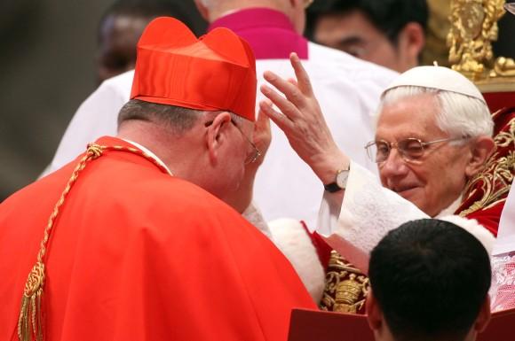 Pope Benedict XVI Holds Concistory