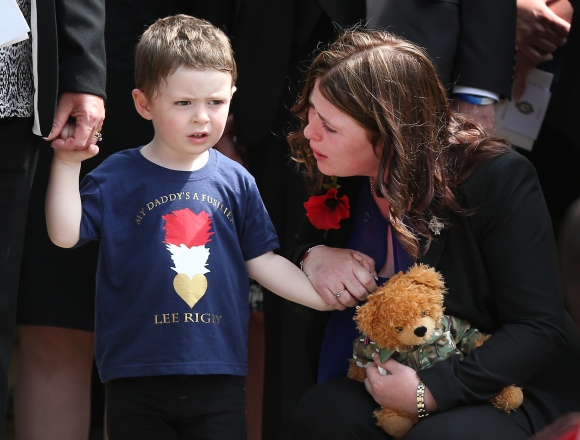 Military Funeral For Fusilier Lee Rigby