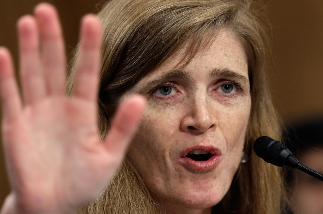 Senate Committee Holds Nomination Hearing For Samantha Power To Become United Nations Representative