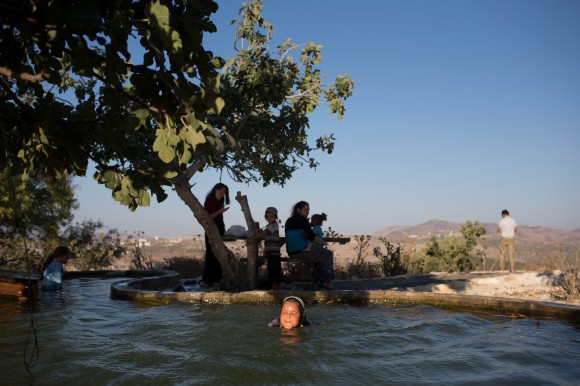 Life Continues In The Havat Gilad, West Bank Outpost