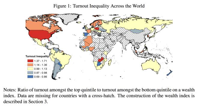 Voting Inequality