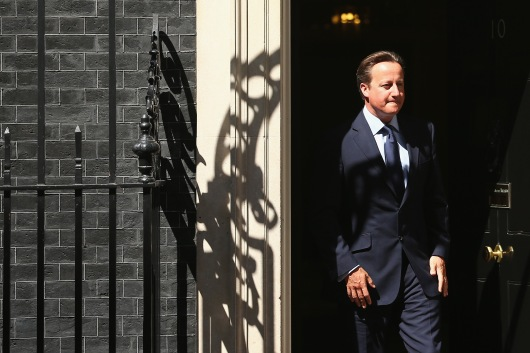 David Cameron Meets With The King Of Bahrain At Downing Street