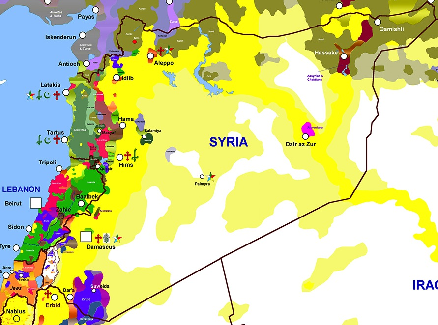The Sectarianism Of Syria  The Dish