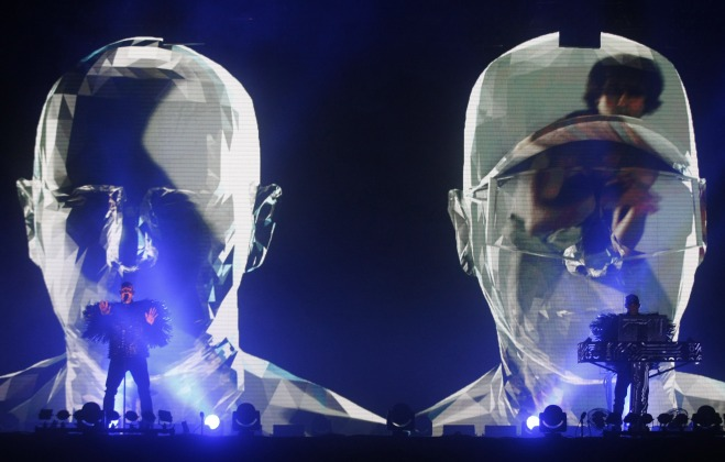Pet Shop Boys Perform In Beijing