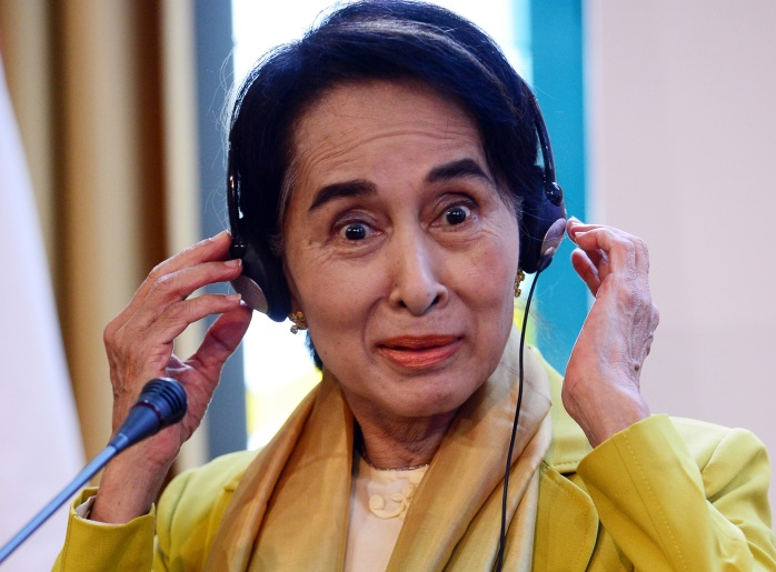 HUNGARY-MYANMAR-POLITICS-AUNG SAN SUU KYI