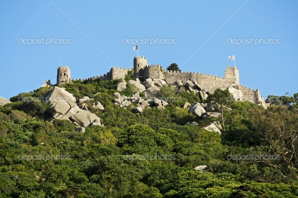Moorish castle-Sintra
