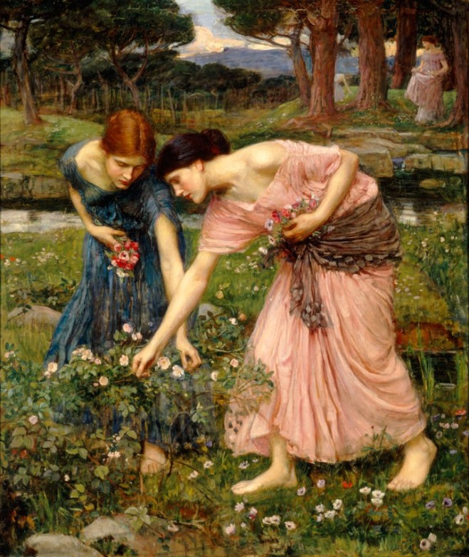 Waterhouse-gather_ye_rosebuds-1909
