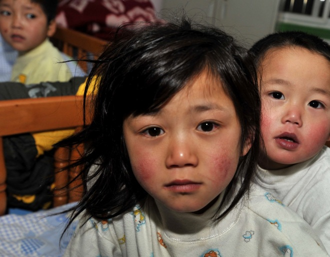 More Beg Children Were Rescued In China