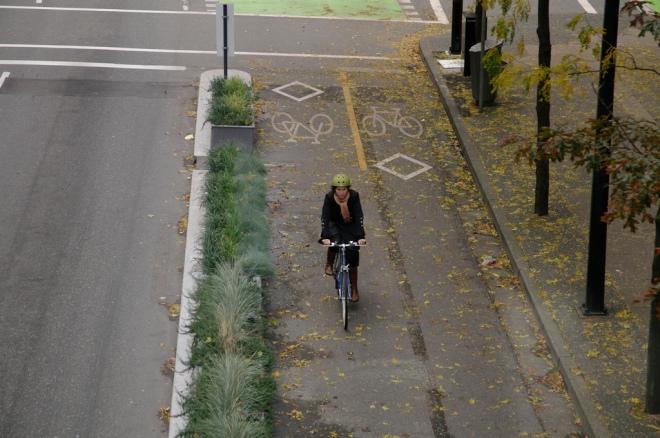 Dunsmuir Separated Bike Lane