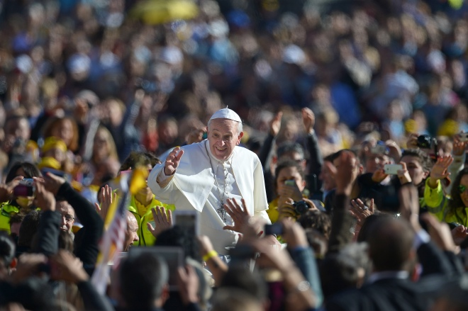 VATICAN-RELIGION-CHRISTIANITY-POPE-AUDIENCE