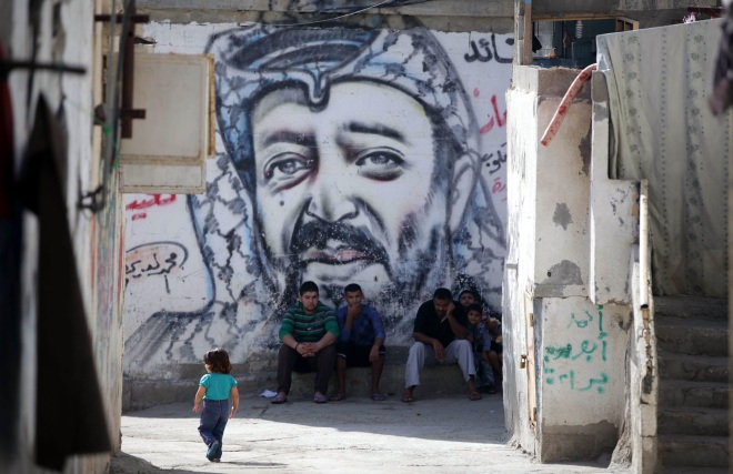 9th death anniversary of Yasser Arafat