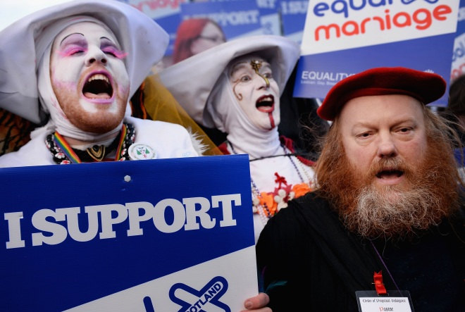 Scottish Parliament Votes On Equal Marriage Bill