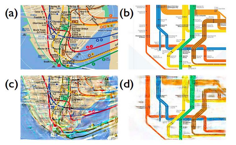 Subway Map Of The Brain.Building A Better Subway Map The Dish