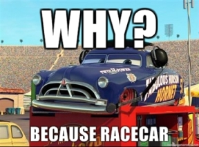 WHY-Because-Racecar