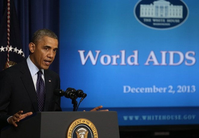 President Obama Delivers Remarks To Mark World AIDS Day