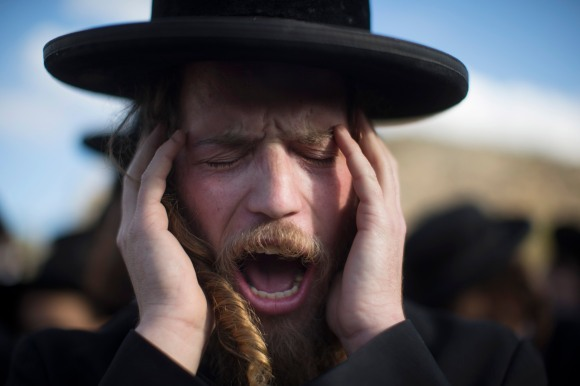 Ultra Orthodox Jews Protest Against Military Conscription In Israel
