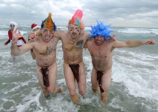 FRANCE-FEATURE-BATH-NEW YEAR