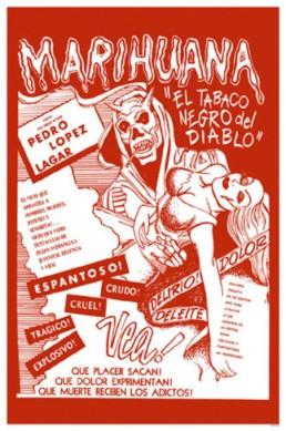 marijuana MEXICO poster