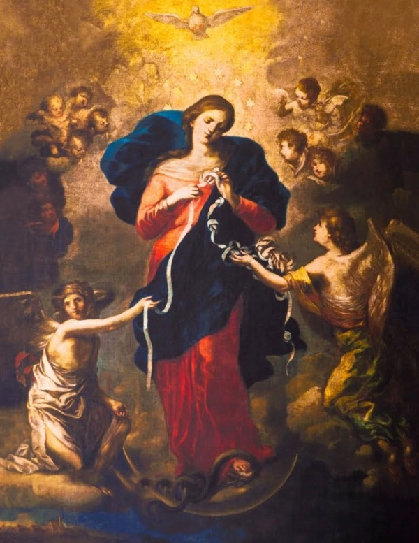 Mary Untier of Knots / Johann Georg Melchior Schmidtner