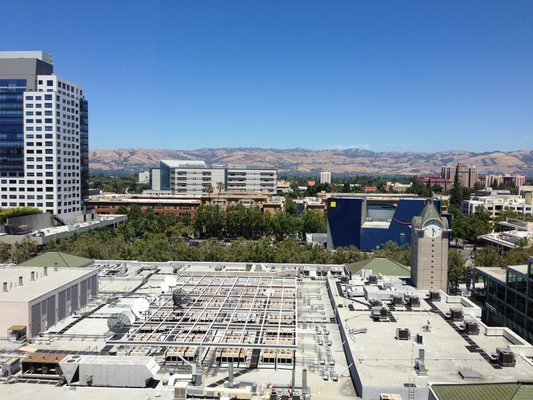 san jose fairmont view