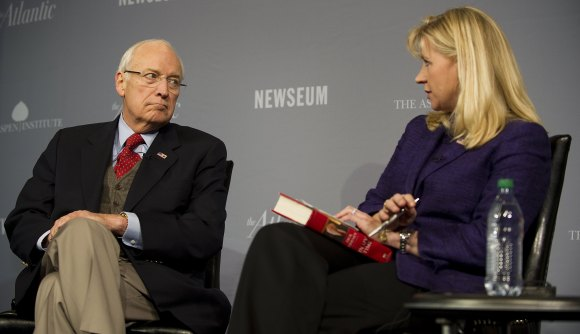 Former Vice President Dick Cheney is int